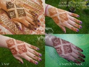 henna szine, hennastain, henna ápolása
